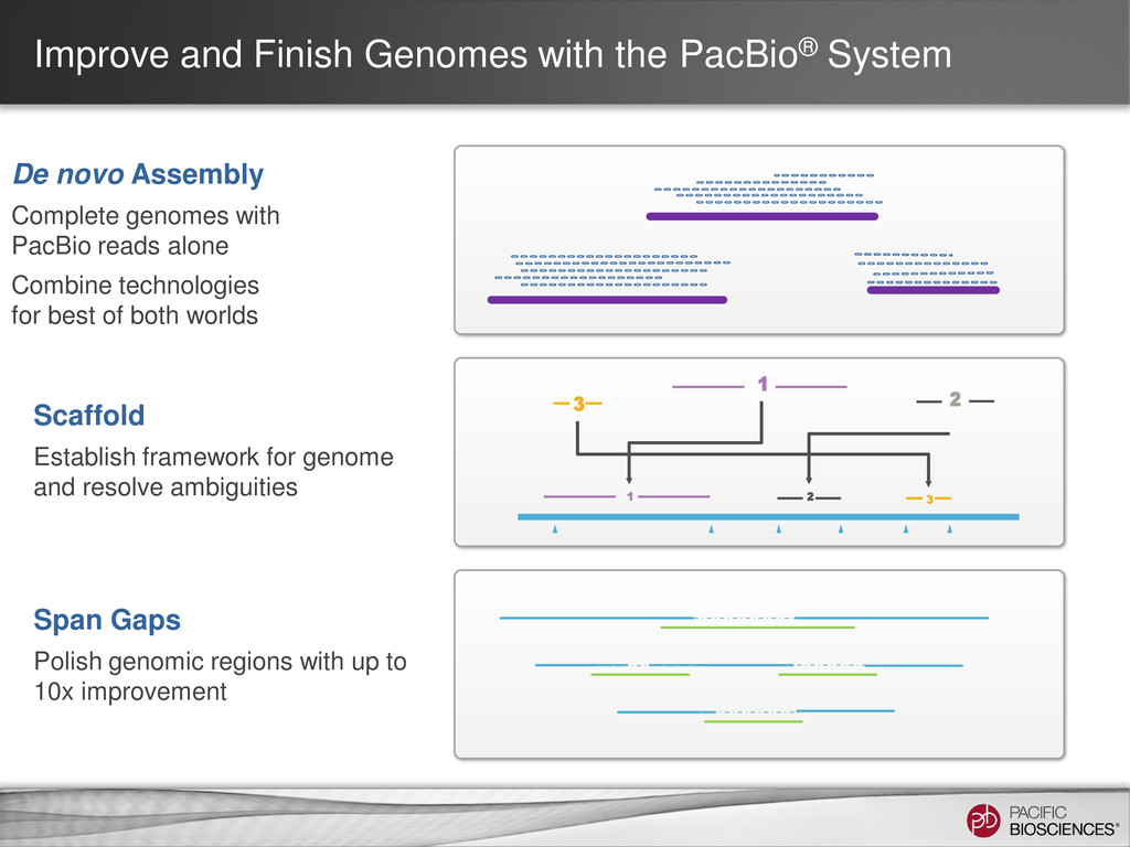 Improve and Finish Genomes with the PacBio® Sys...