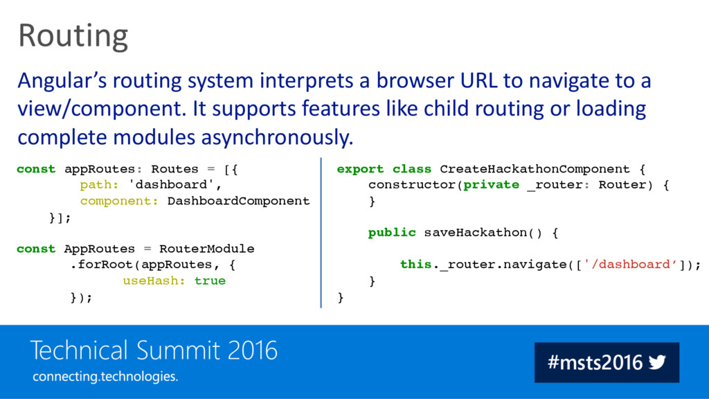 Angular's routing system interprets a browser U...