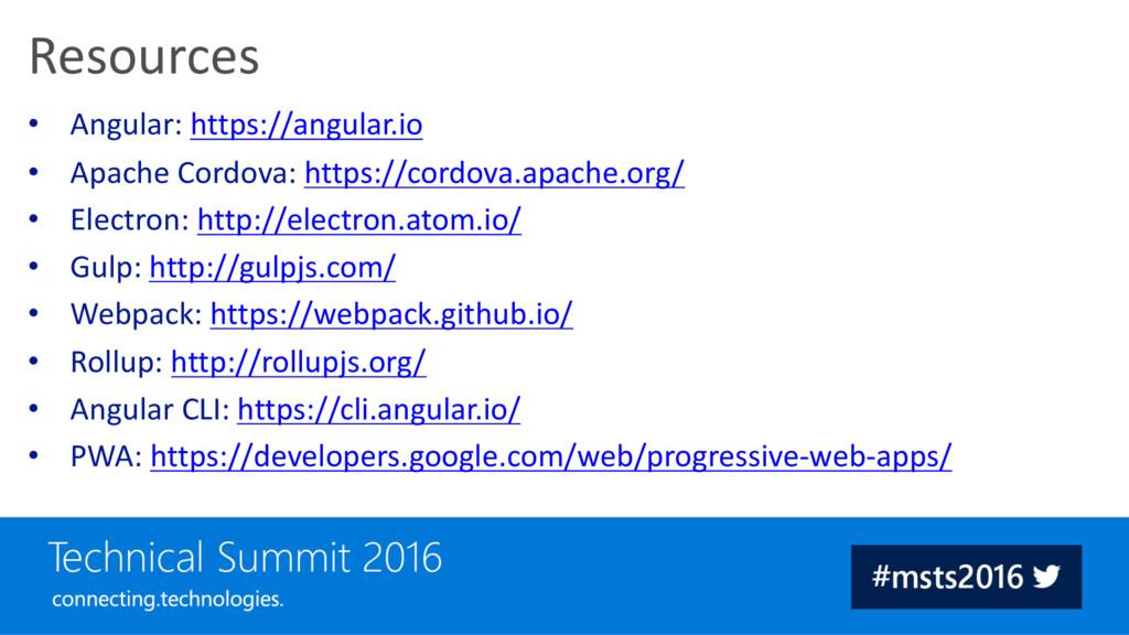 • Angular: https://angular.io • Apache Cordova:...