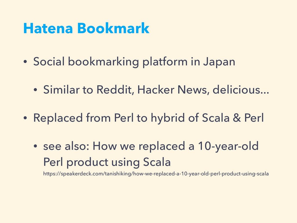 Hatena Bookmark • Social bookmarking platform i...