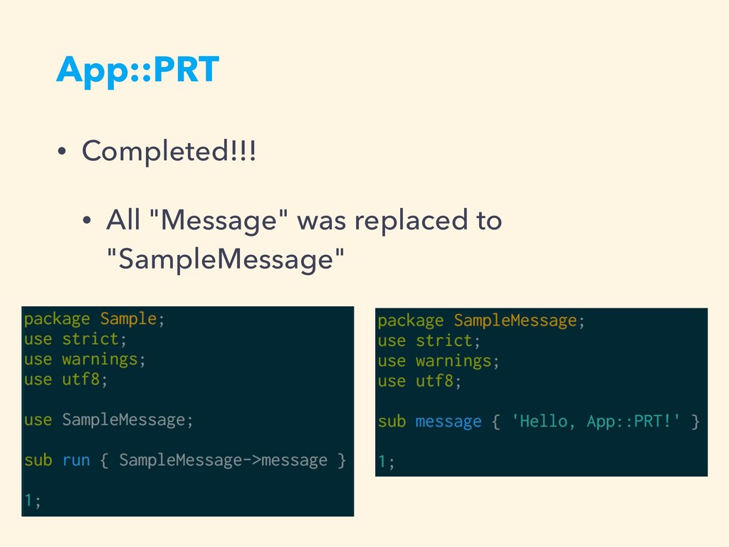 """App::PRT • Completed!!! • All """"Message"""" was rep..."""