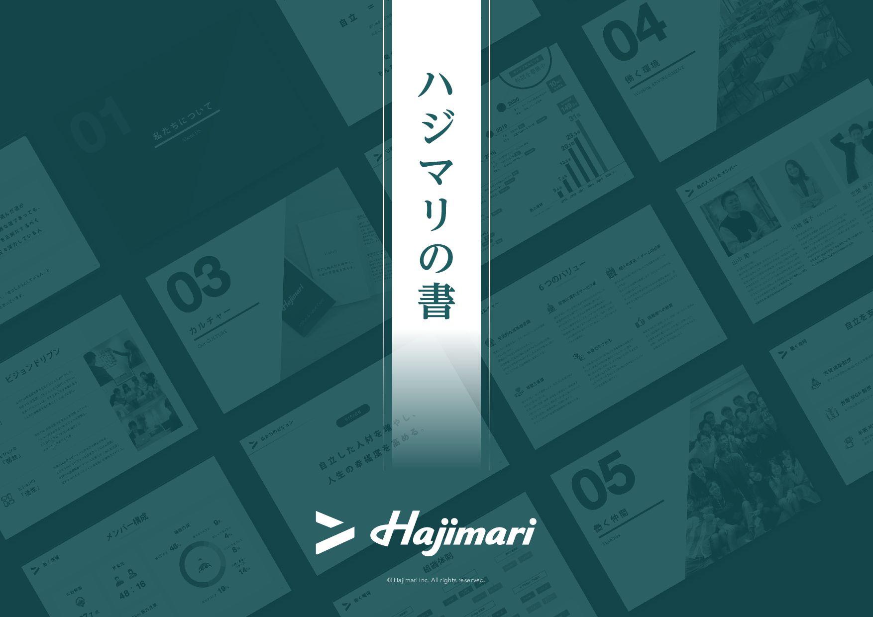© Hajimari Inc. All rights reserved. ϋ δ Ϛ Ϧ ͷ ॻ
