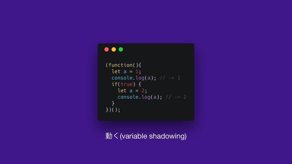 ಈ͘(variable shadowing)