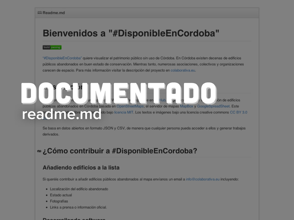 readme.md Documentado