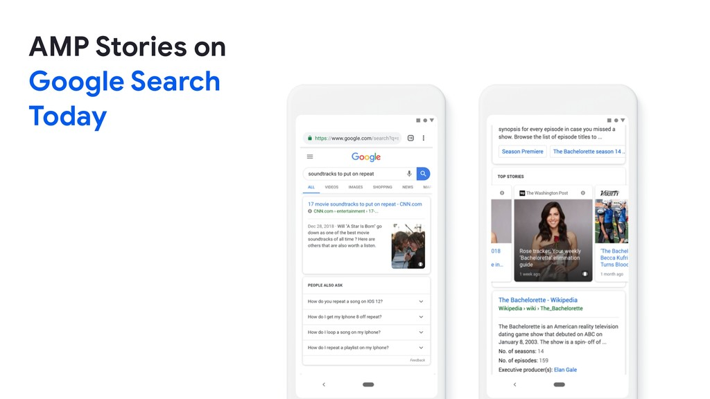 AMP Stories on   Google Search  Today