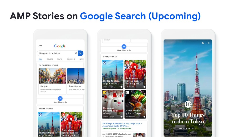 AMP Stories on Google Search (Upcoming)