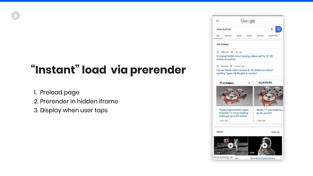 """""""Instant"""" load via prerender 1. Preload page 2...."""