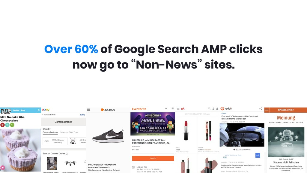 Over 60% of Google Search AMP clicks now go to...