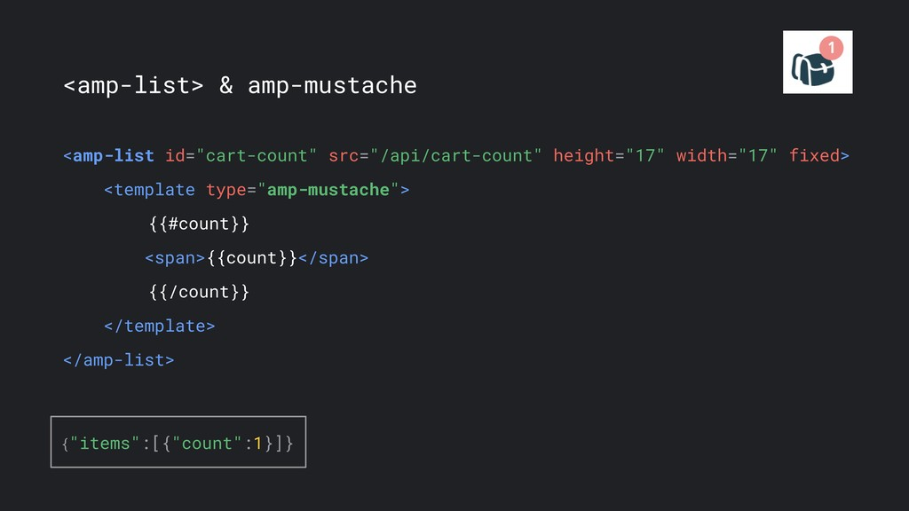 "<amp-list> & amp-mustache <amp-list id=""cart-co..."