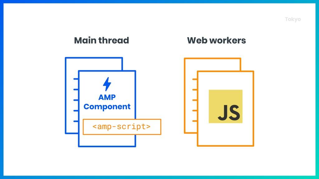 Tokyo <amp-script> AMP Component Main thread W...