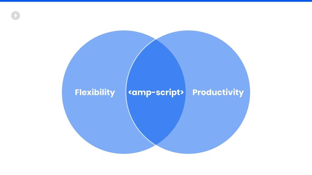Flexibility Productivity <amp-script>
