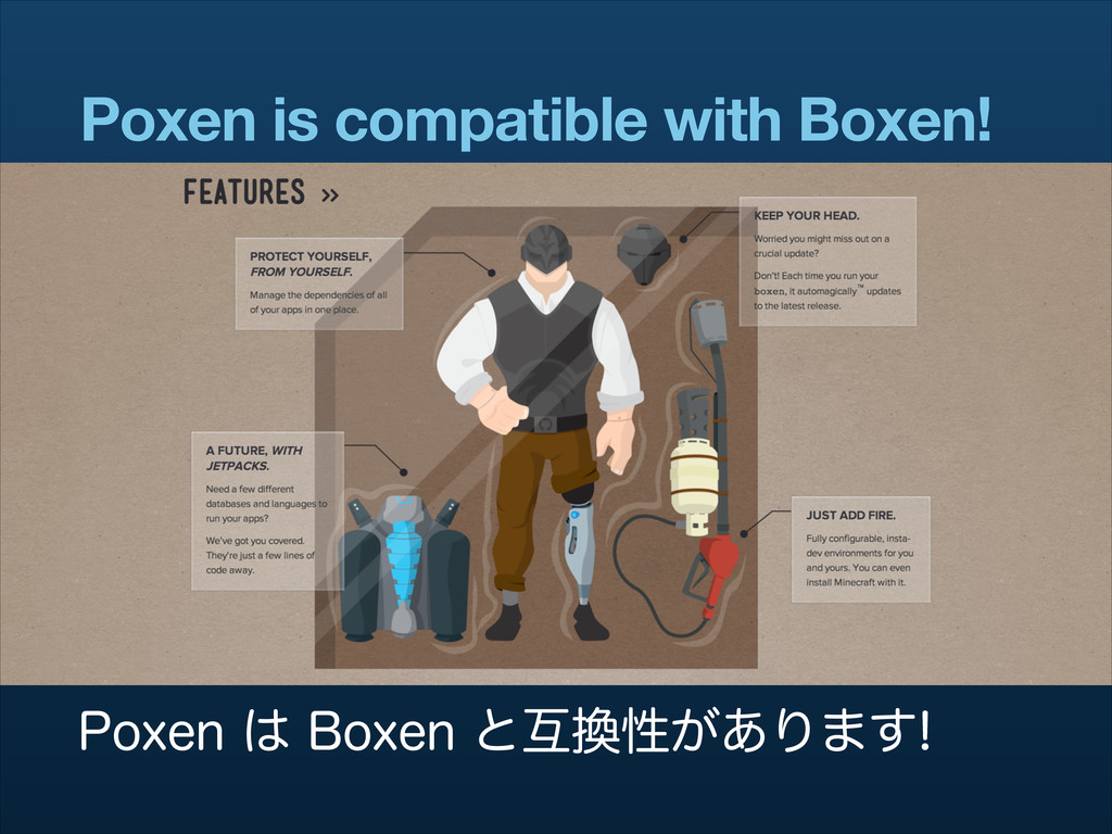 Poxen is compatible with Boxen! 1PYFO͸#PYFOͱ...
