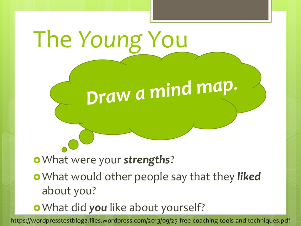 The Young You What were your strengths? What ...