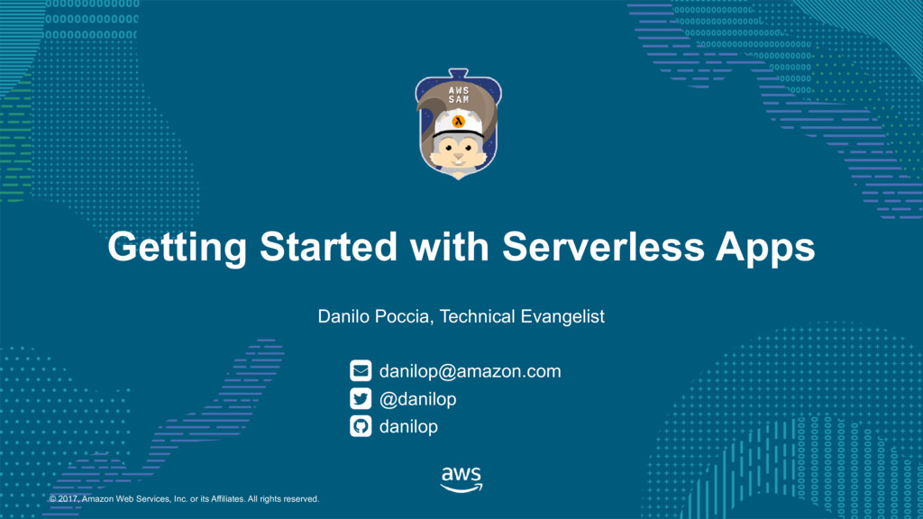 Getting Started with Serverless Apps