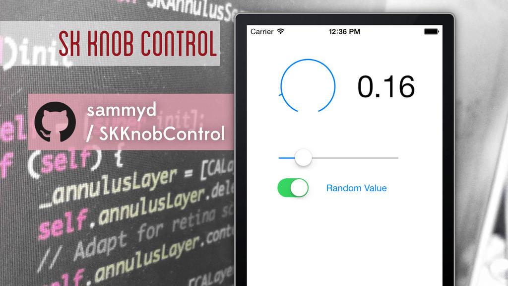 SK Knob Control sammyd / SKKnobControl