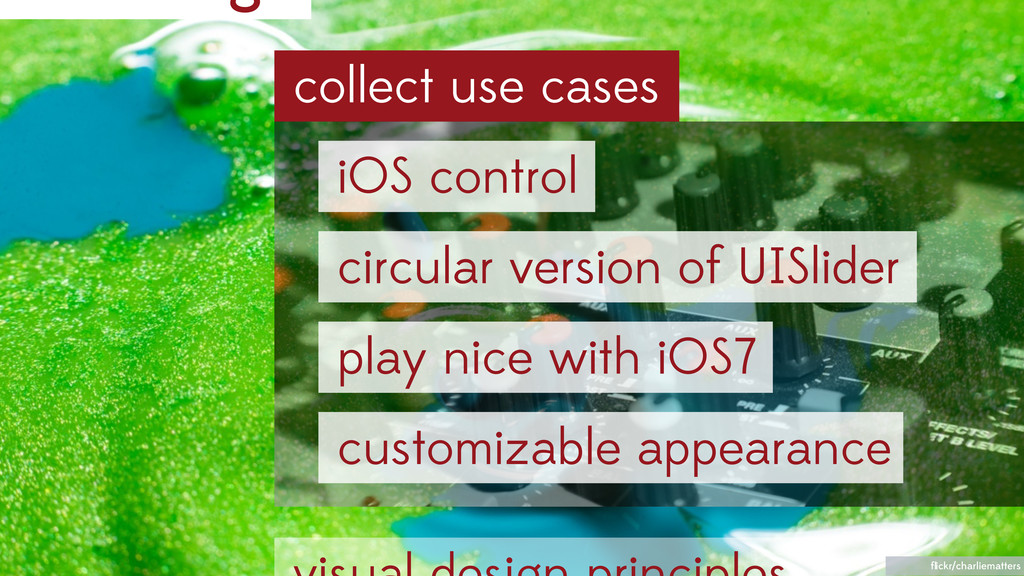 collect use cases flickr/charliematters iOS cont...