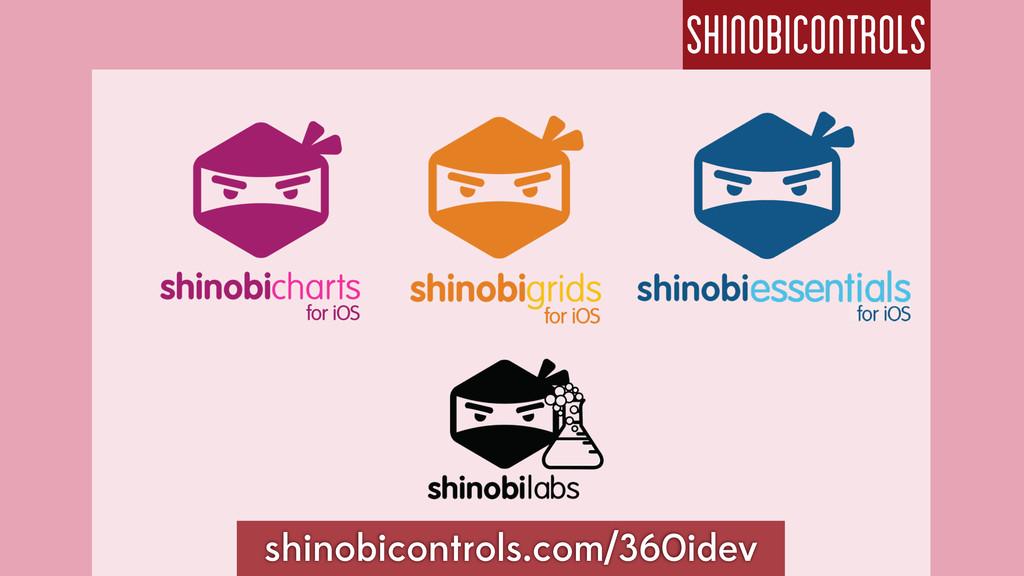 shinobicontrols shinobicontrols.com/360idev