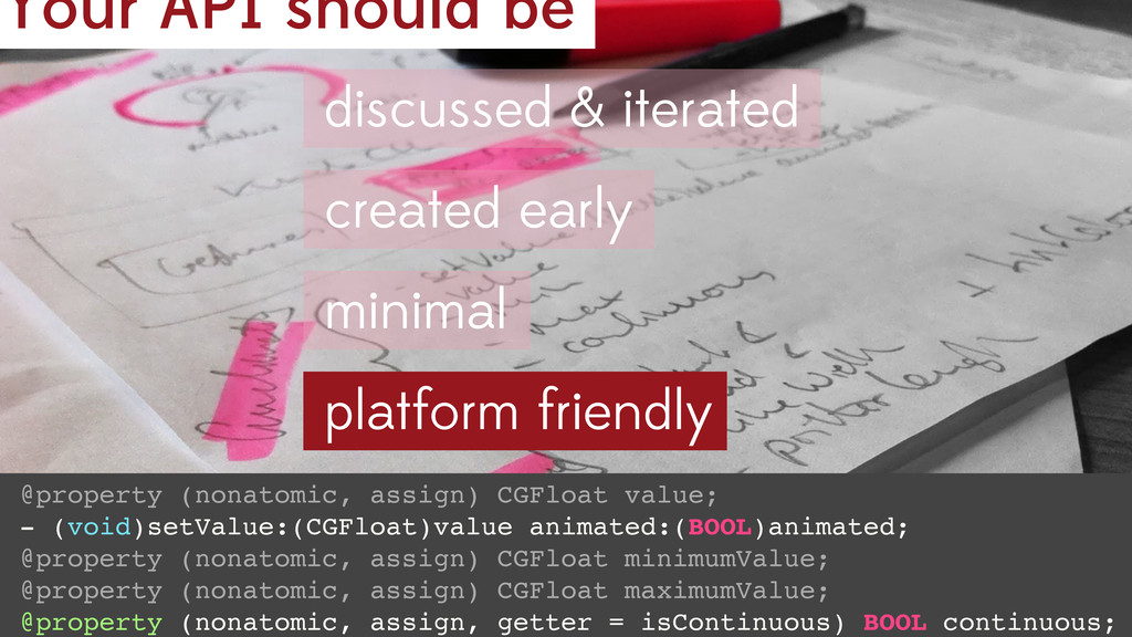 Your API should be @property (nonatomic, assign...