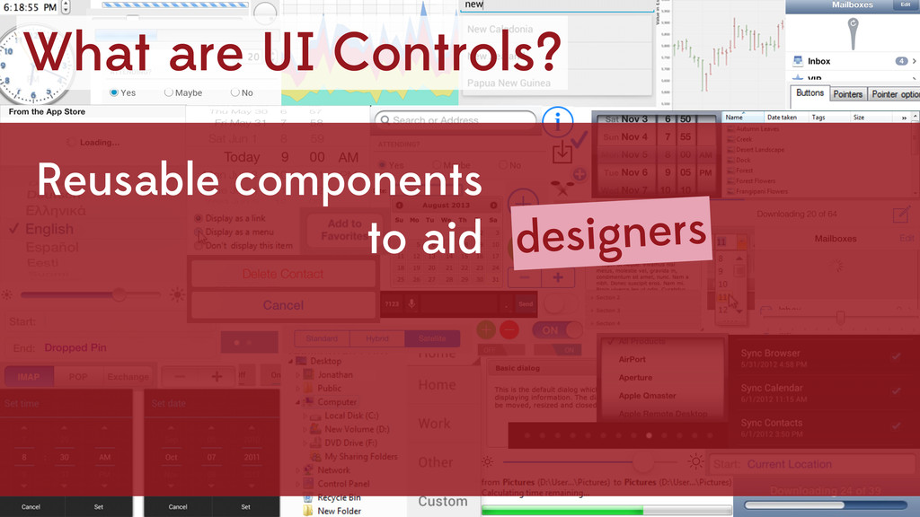 What are UI Controls? Reusable components to ai...
