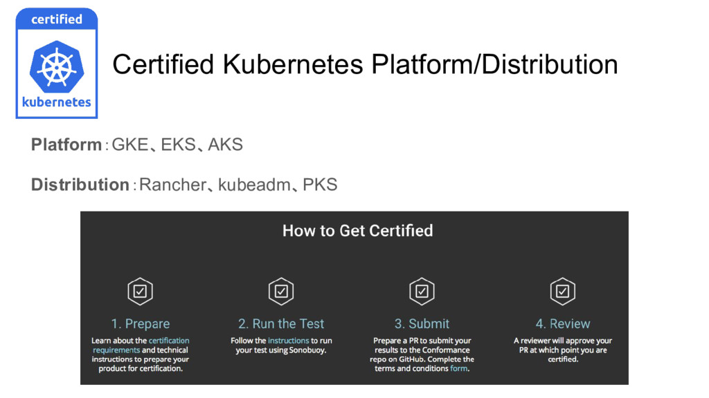 Certified Kubernetes Platform/Distribution Plat...