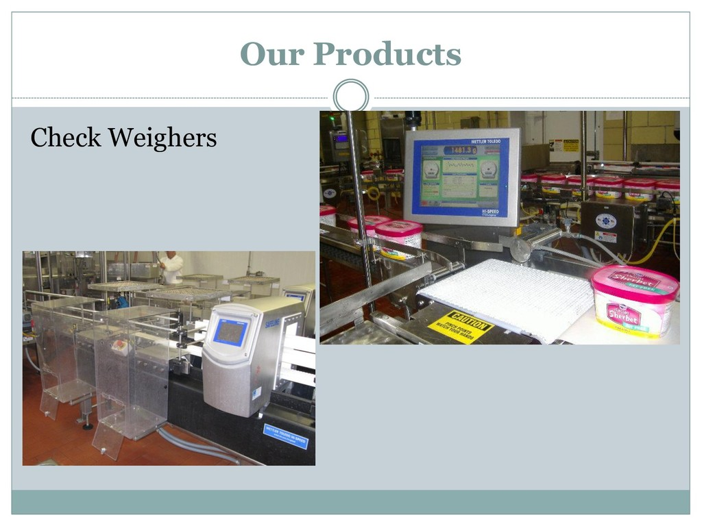 Check Weighers Our Products