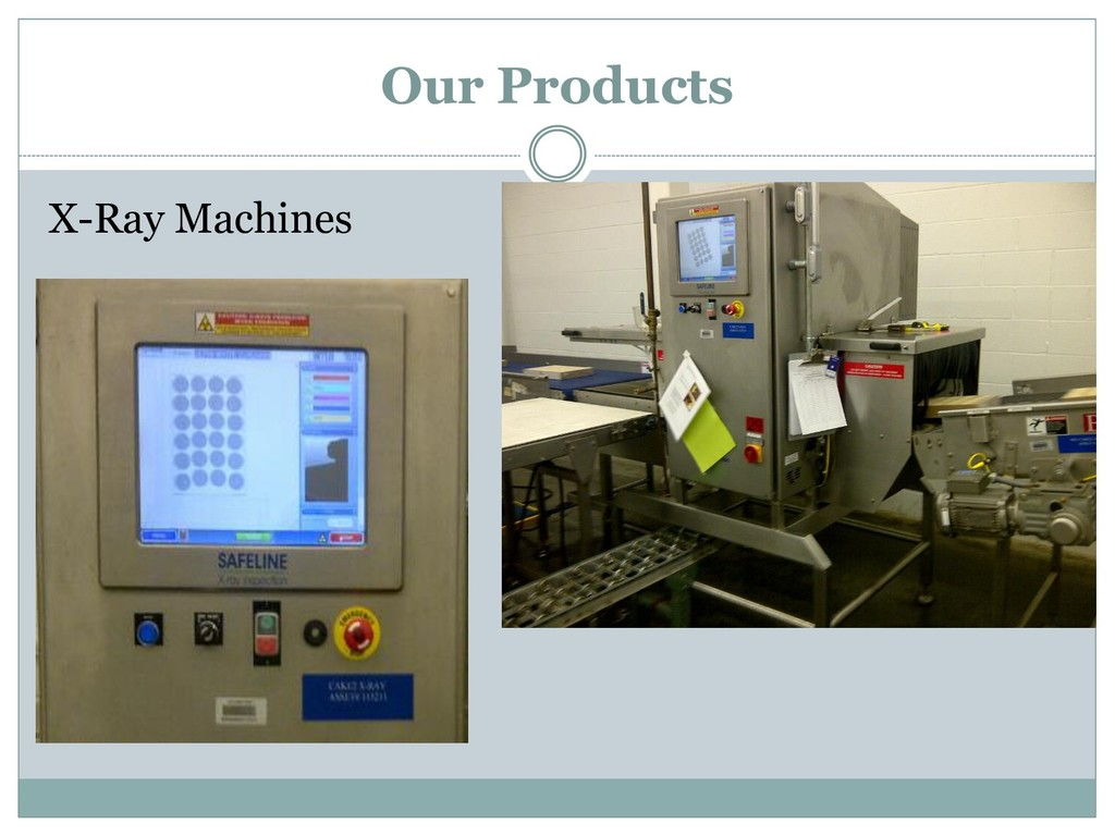 X-Ray Machines Our Products