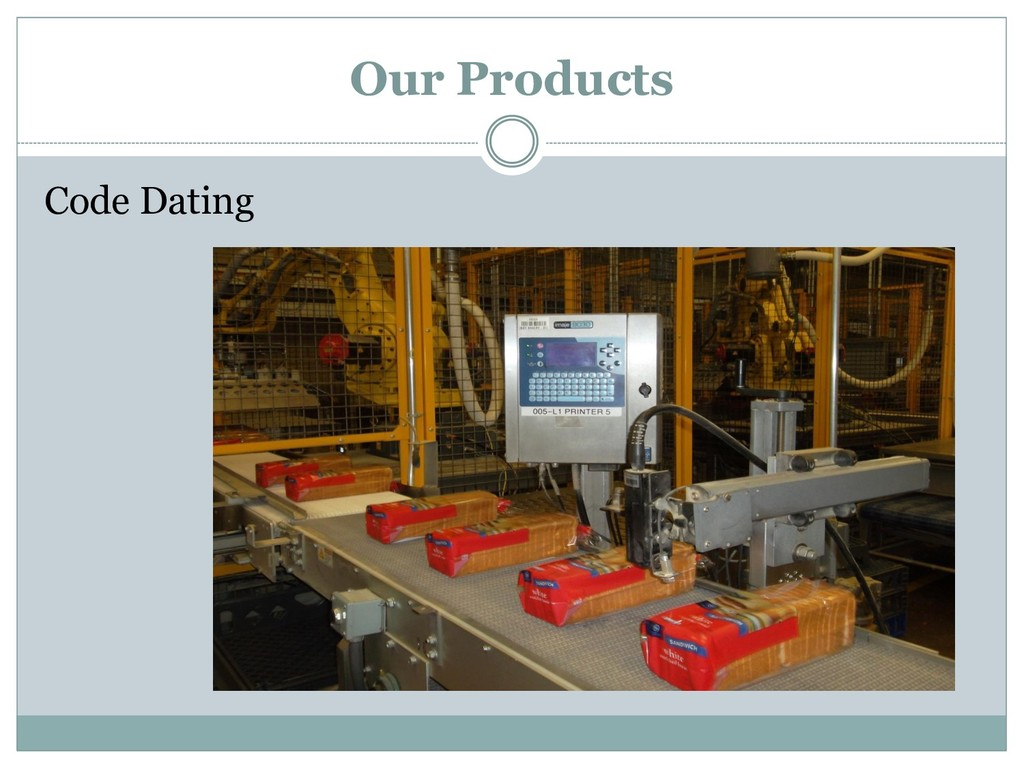 Code Dating Our Products