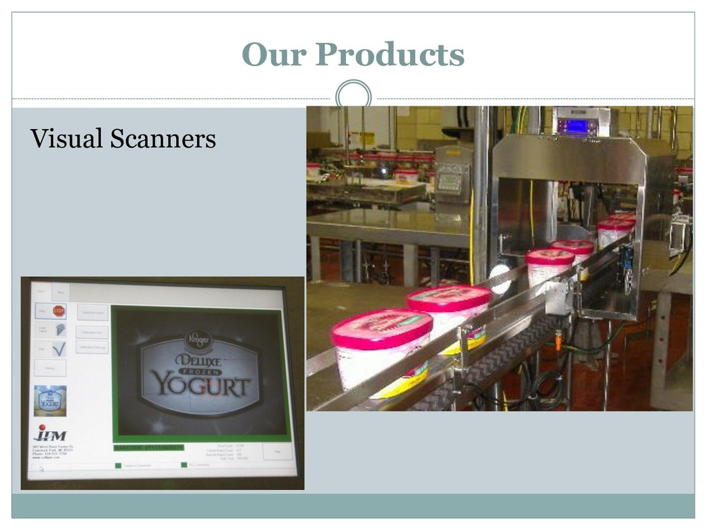 Visual Scanners Our Products