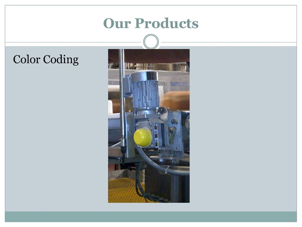 Color Coding Our Products