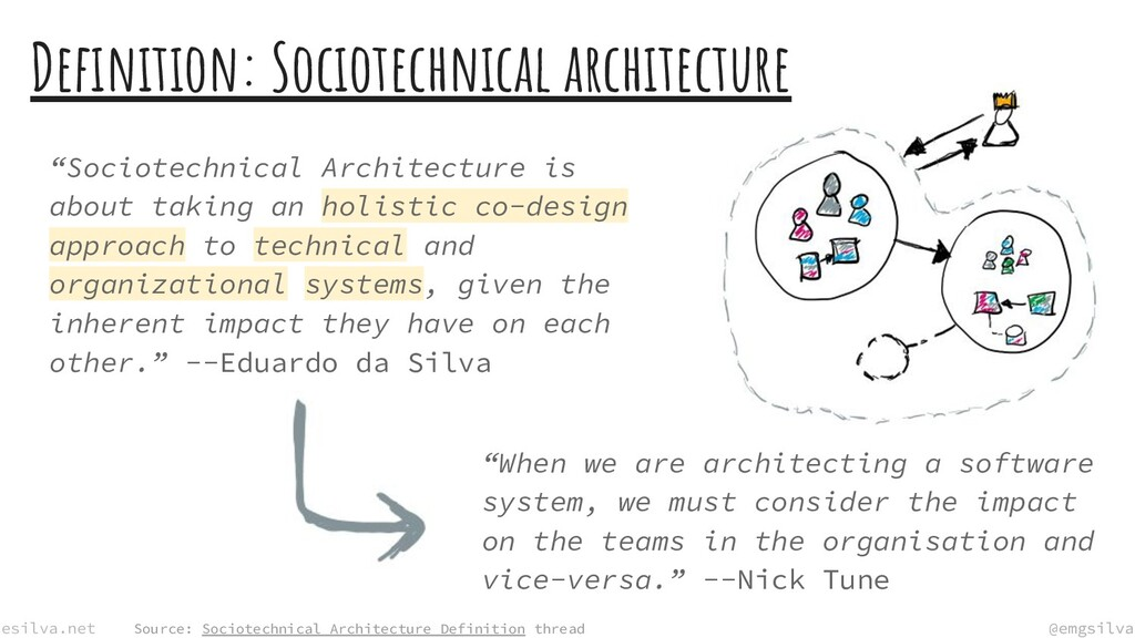 @emgsilva esilva.net @emgsilva Definition: Socio...