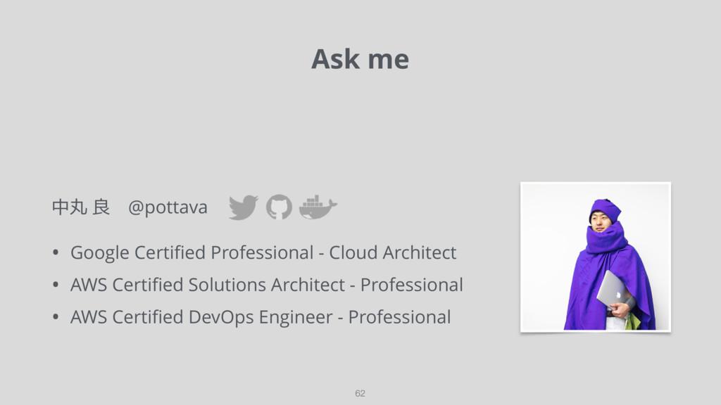 中丸 良 @pottava • Google Certified Professional - ...
