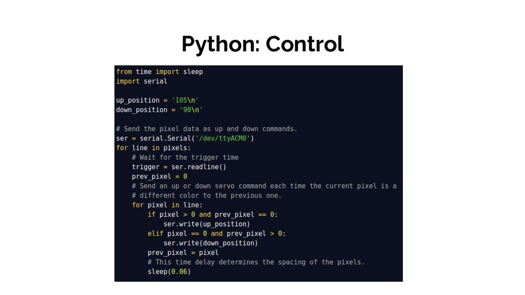 Python: Control