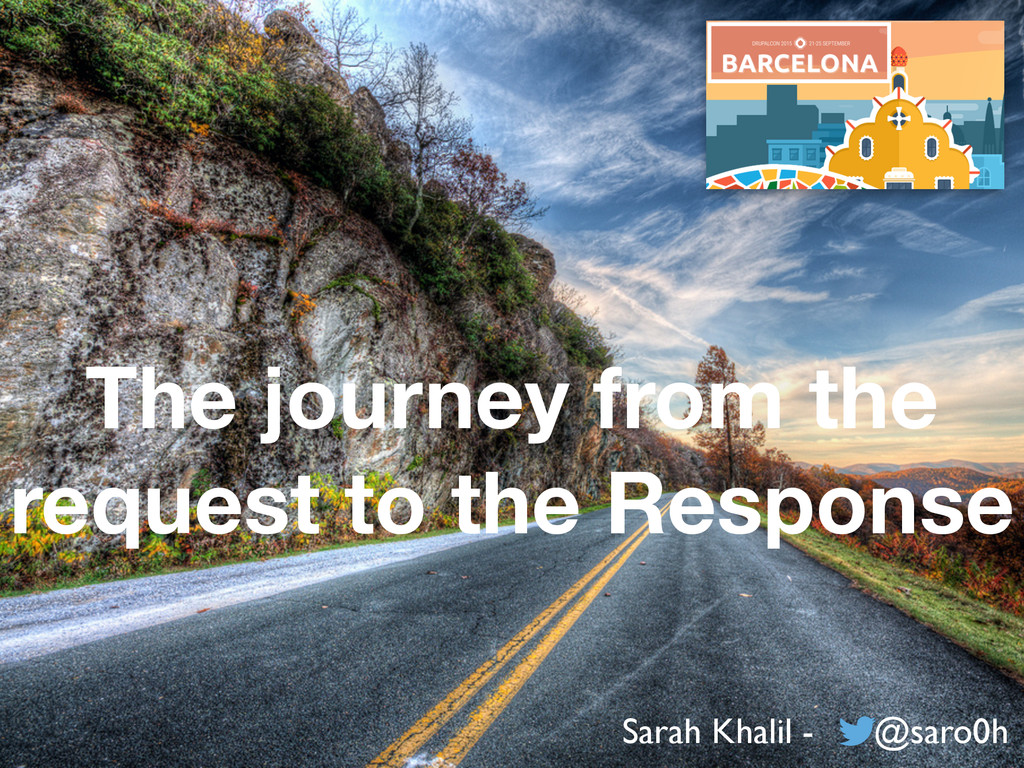 The journey from the request to the Response Sa...