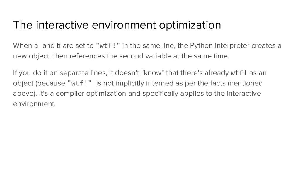 The interactive environment optimization When a...