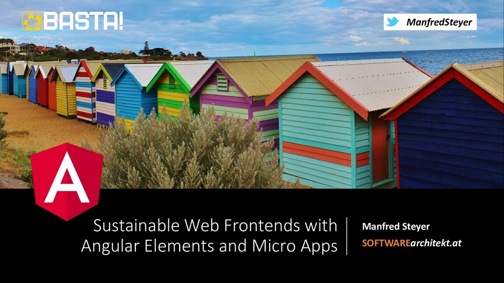 @ManfredSteyer Sustainable Web Frontends with A...