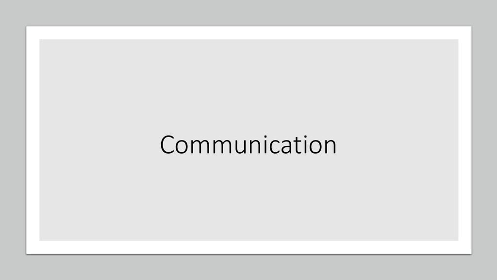 @ManfredSteyer Communication