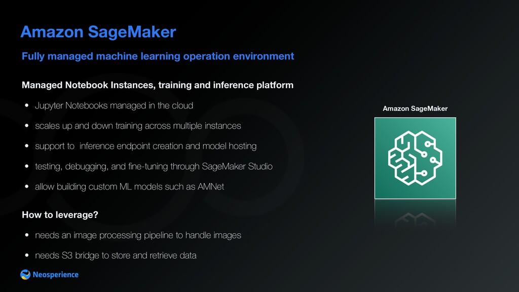 Fully managed machine learning operation enviro...