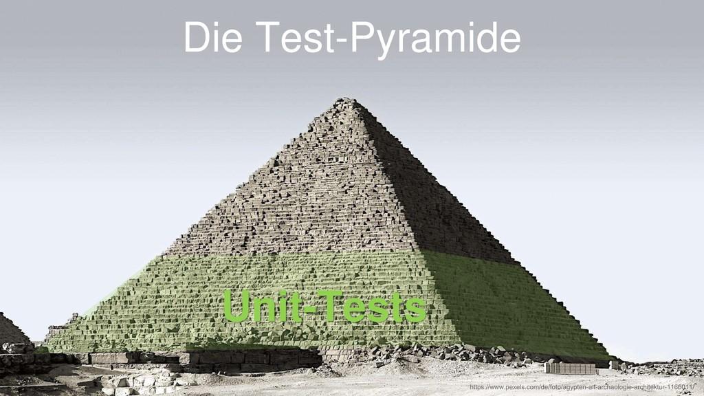 Die Test-Pyramide Unit-Tests