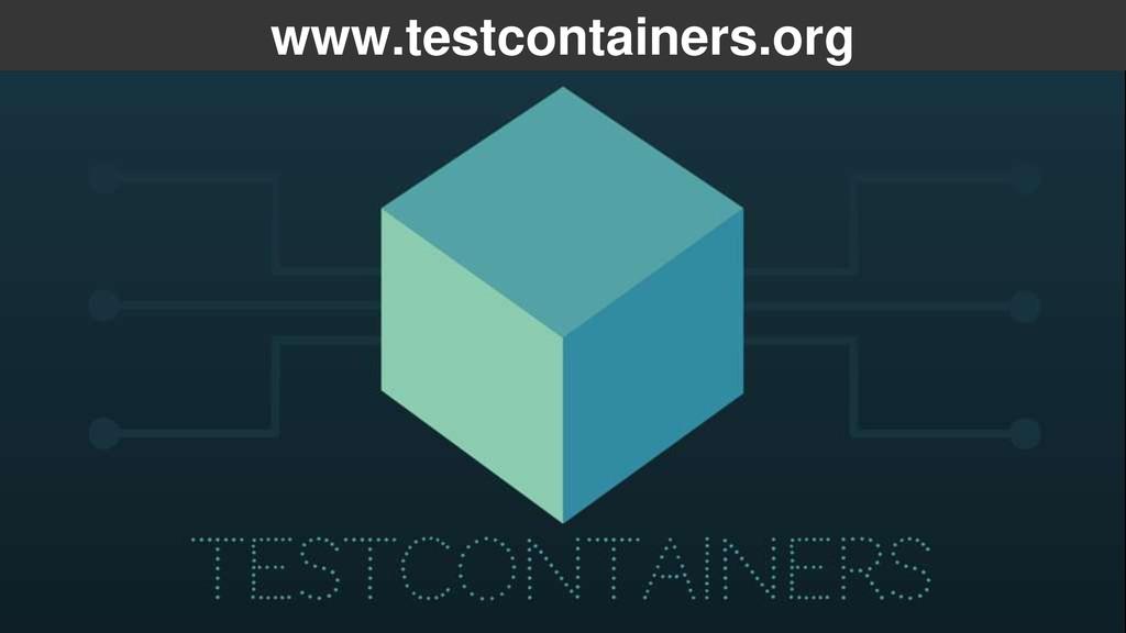 www.testcontainers.org