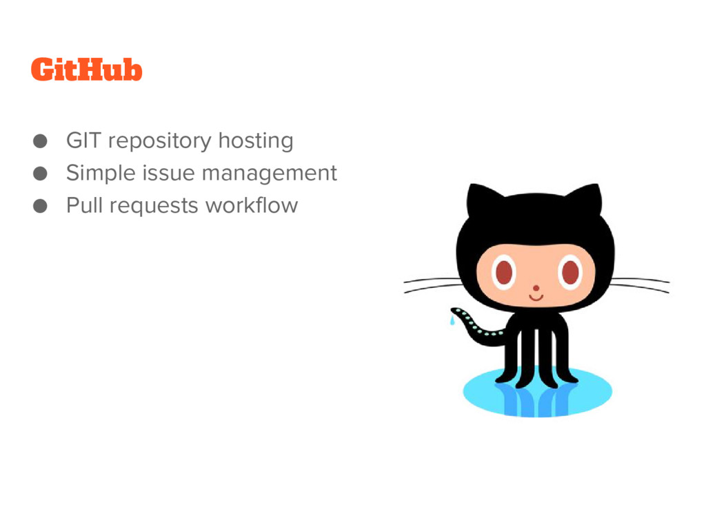 GitHub ● GIT repository hosting ● Simple issue ...