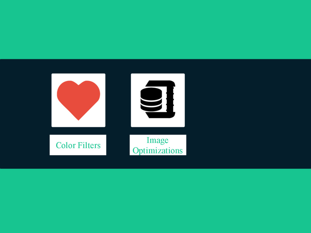 Image Optimizations Color Filters