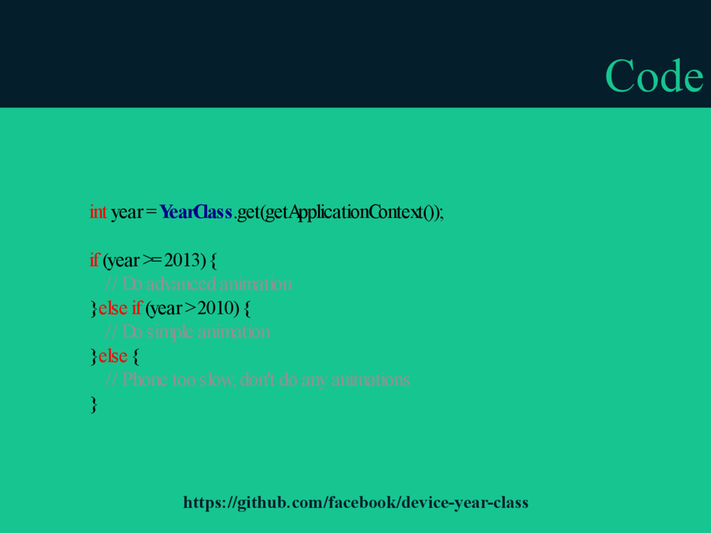 Code int year = Y earC lass.get(getA pplication...