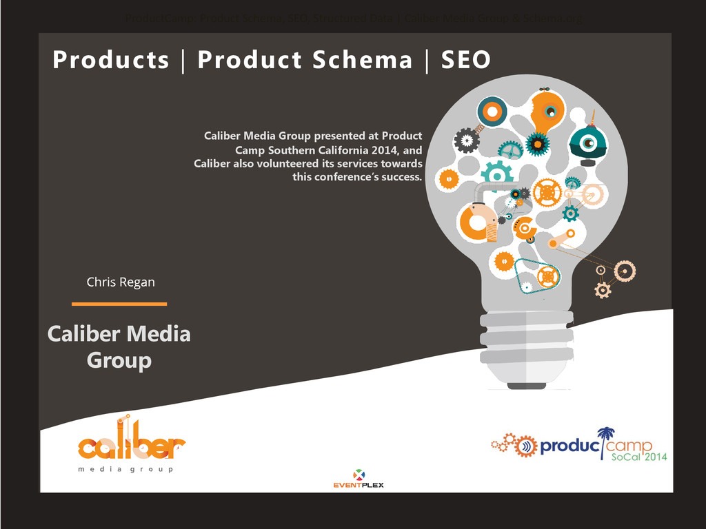 ProductCamp: Product Schema, SEO, Structured Da...