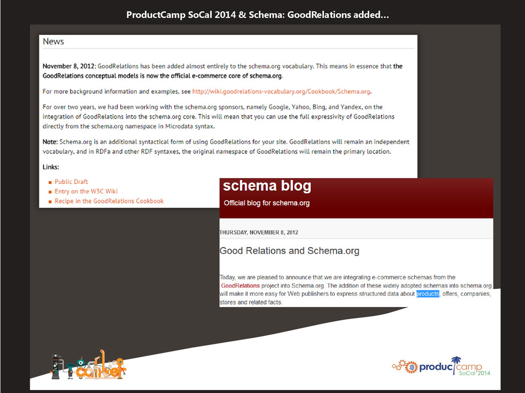 ProductCamp SoCal 2014 & Schema: GoodRelations ...