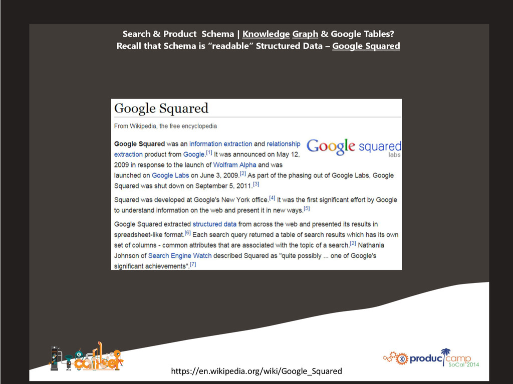 Search & Product Schema | Knowledge Graph & Goo...