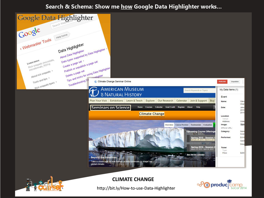 Search & Schema: Show me how Google Data Highli...