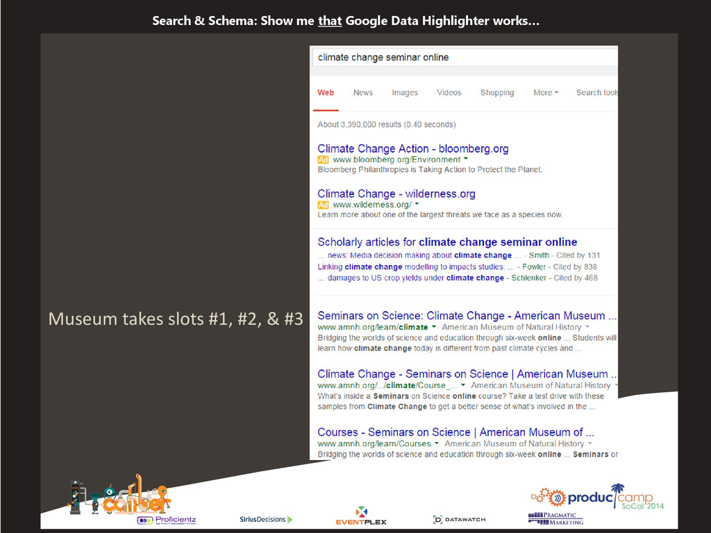 Search & Schema: Show me that Google Data Highl...