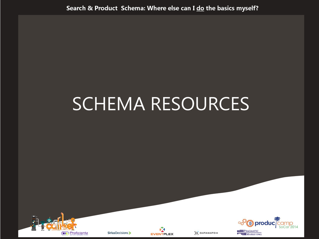 Search & Product Schema: Where else can I do th...