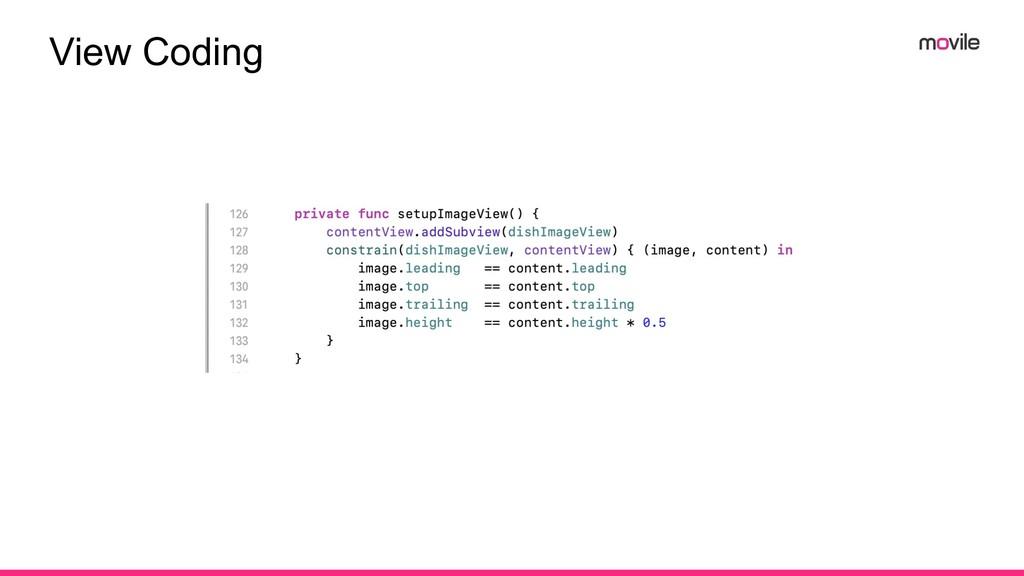 View Coding