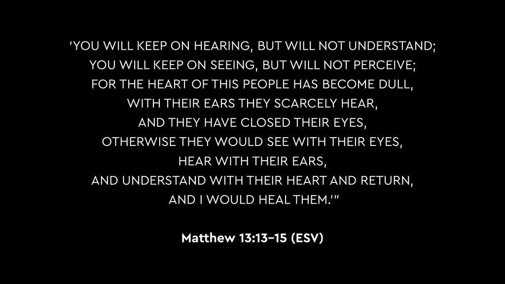'YOU WILL KEEP ON HEARING, BUT WILL NOT UNDERST...